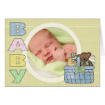 Babyhälsningkort Kort