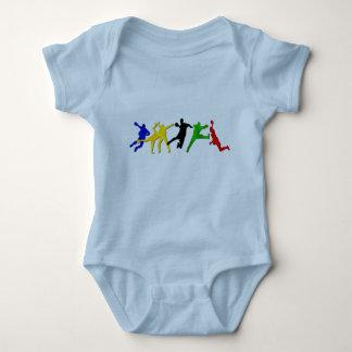 Babyhandboll förkroppsligar tshirts