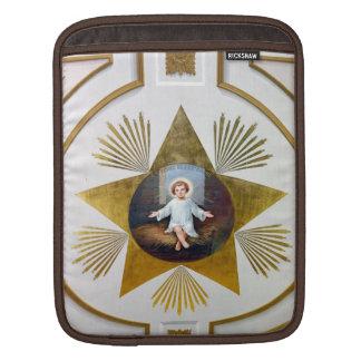 BabyJesus dekorativt konstverk iPad Sleeve
