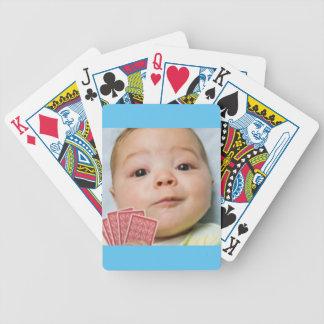 Babypokeransikte! Leka kort! Spelkort