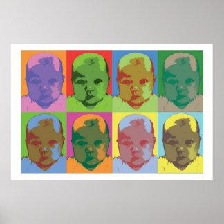 Babypopkonst Poster