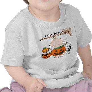 Babypumpa min 1st Halloween spädbarnT-tröja