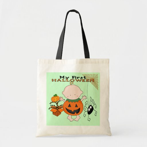 Babypumpa som min 1st Halloween hänger lös Tote Bags