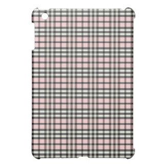 Babyrosor/svart pläd Pern iPad Mini Mobil Fodral