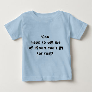 Babyskeden kan inte flyga T-tröja Tröjor