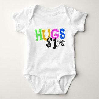 Babyskjorta för KRAMAR $1 (besparingen för T-shirt