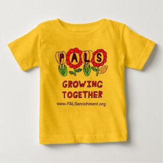 """Babyskjorta för PALS 2013 """"som tillsammans växer T Shirts"""
