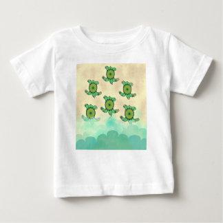Babysköldpaddor T-shirts