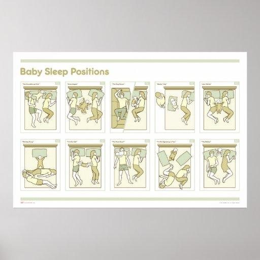 Babysömn placerar affischen posters