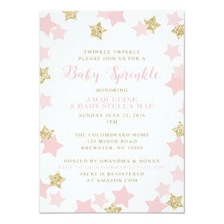 Babystänkinbjudningar för Gerrie 12,7 X 17,8 Cm Inbjudningskort