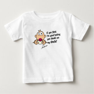 Babyt-skjorta från uncle t shirts