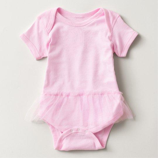 Baby Ballerina Body, Rosa