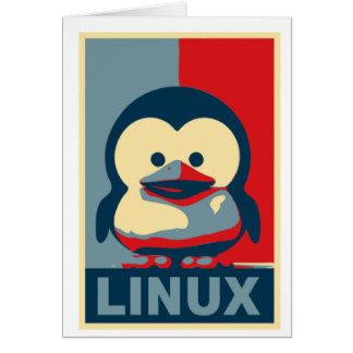 BabyTuxLinux Hälsningskort