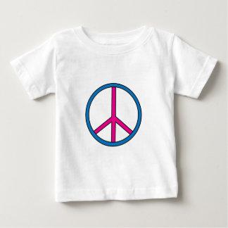 Babyutslagsplats - fredstecken t shirt