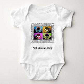 Babyutslagsplatser, dräkt - konst för Java Tshirts