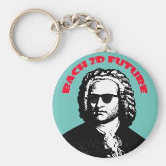 Bach 2D Rund Nyckelring