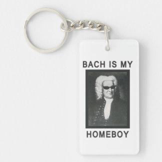Bach är min Homeboy Nyckelring