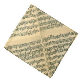Bach Chaconne manuskript Bandana