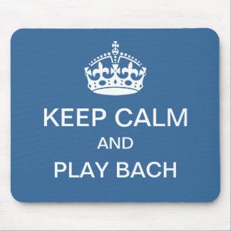 Bach för behållalugnlek mousepad musmatta