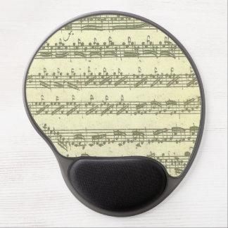 Bach Partita musikmanuskript för fiol solo Gel Musmatta