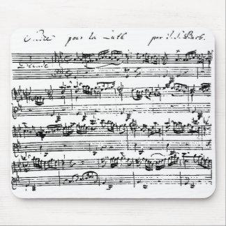 Bach ställningmousepad musmatta