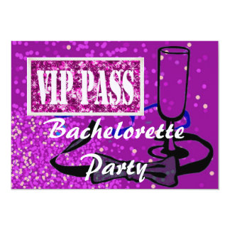 Bachelorette brud som är partyinbjudan 12,7 x 17,8 cm inbjudningskort