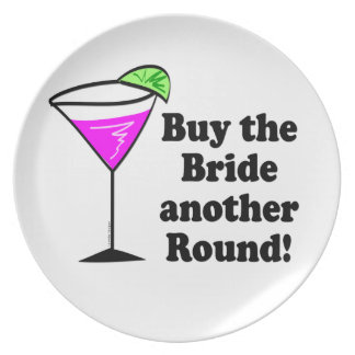 Bachelorette köp bruden en runda tallrik