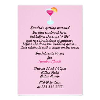 Bachelorette party 12,7 x 17,8 cm inbjudningskort