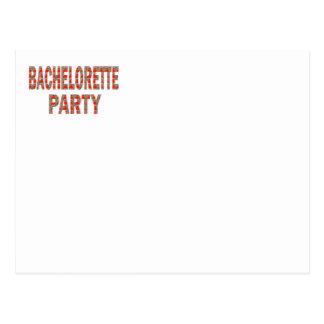 Bachelorette party: Förlovning som gifta sig Vykort