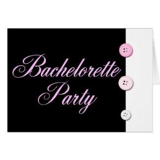 Bachelorette party hälsningskort