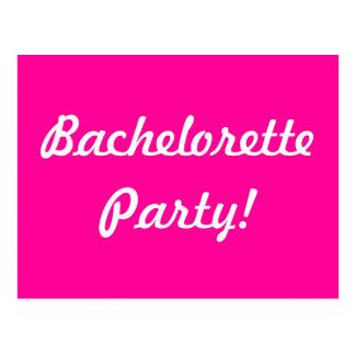 Bachelorette party! vykort