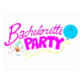 Bachelorette party vykort