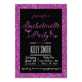 Bachelorette partydesign 8,9 x 12,7 cm inbjudningskort