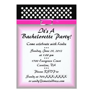 Bachelorette partyinbjudan 12,7 x 17,8 cm inbjudningskort