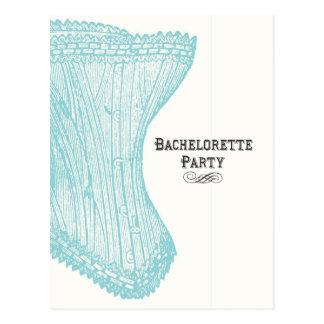 Bachelorette partyvykort vykort