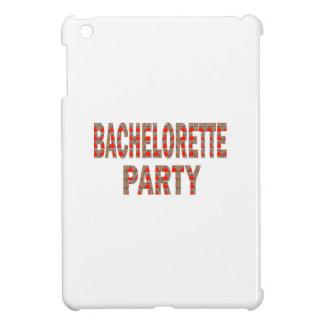 BACHOLERETTE-party: Bröllopförlovning LOWPRICES iPad Mini Skal