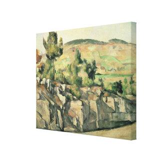 Back i Provence, c.1886-90 Canvastryck