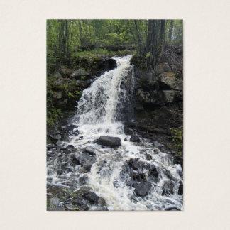 Bäck i skogen som handlar kortet visitkort
