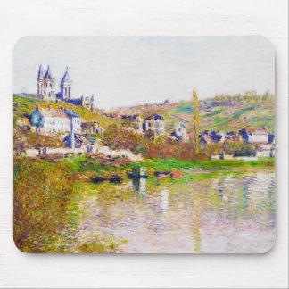 Backarna av Vetheuil, Claude Monet coola som 1880  Musmattor