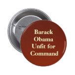 backdropapplication Barack ObamaUnfit för Command Nål