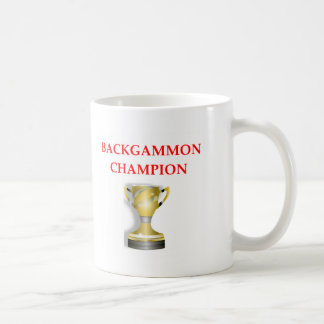 backgammon kaffemugg