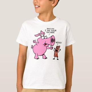 Bacon I-förmiddag din far T-shirts