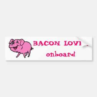Baconälskarebildekal Bildekal