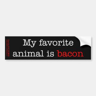 Baconfavoritdjur Bildekal