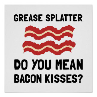 Baconkyssar Poster