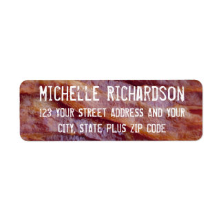 Baconremsor Returadress Etikett