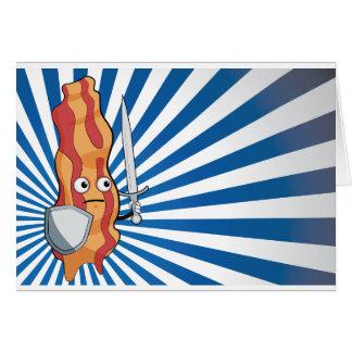 Baconriddare Hälsningskort