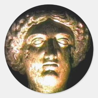 Bad England 1986 romerska jGibne för Goddess1 Runt Klistermärke