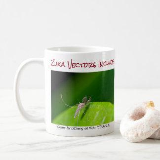 Båda är den Zika vektormuggen vid RoseWrites Kaffemugg