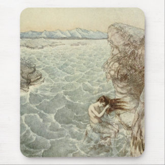 Bada i havet musmatta